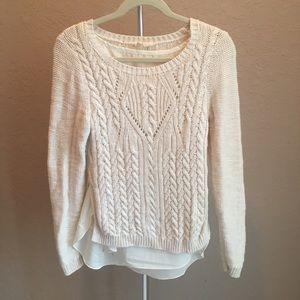 3/$30 Anthro   Moth Sweater Sz M